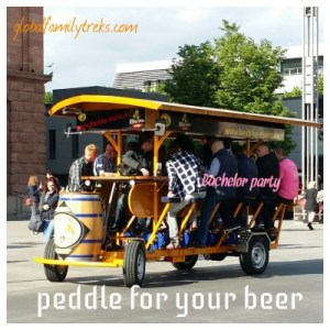 Spring Sight: the Beer Bike or BierBike