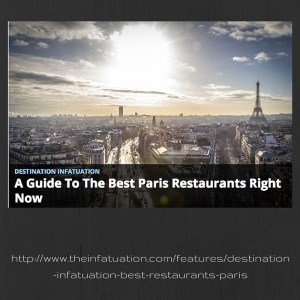 Best paris restaurants
