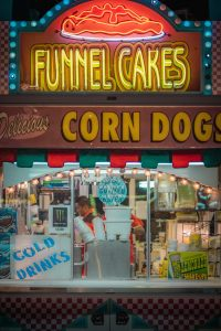 Funnel Cakes LED signage