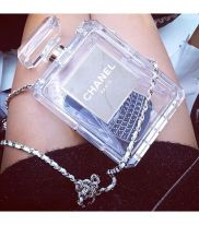 Chanel- transparent is another trend that's big this season. Exactly what I meant by quirk!