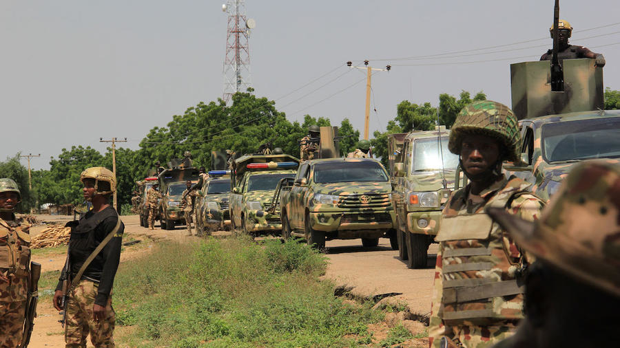 Military fighting jihadists