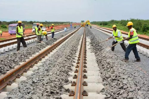Two vandals arrested for destroying rail track in Kaduna