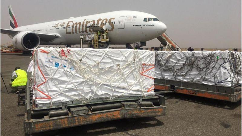 AstraZeneca Vaccine arrives Nigeria