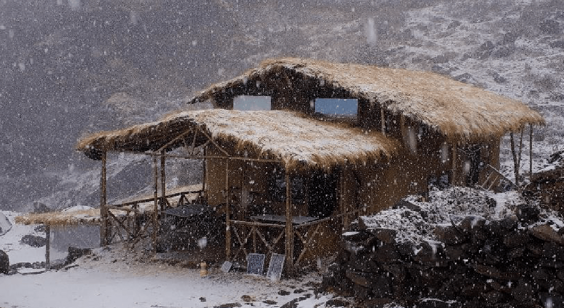 Chopta - Rhododendron Forest Mud House