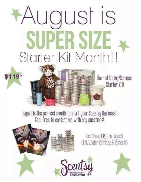 Join Scentsy In August 2014