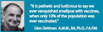 vacc glen dettman Politicians vs Doctors on Vaccines, Quacks and Hippies on the Internet