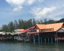 Kong Ka Pier Krabi Town to Koh Lanta Thailand