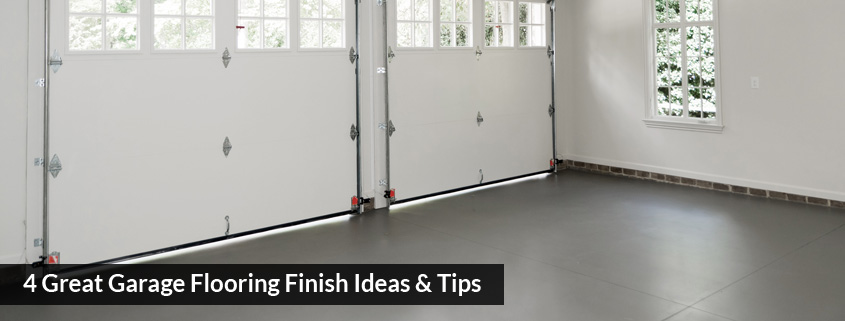 4 Great Garage Flooring Finish Ideas Tips Global Garage Flooring
