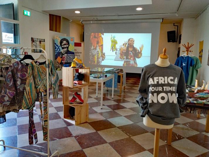 "Die Austellung ""Made in Africa"" fand am AAI statt"