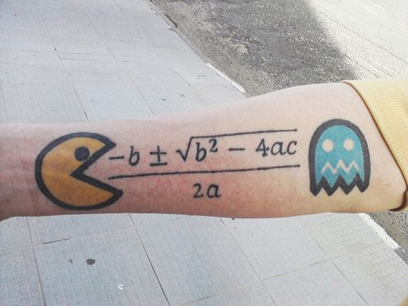I'm not sure why PacMan loves quadratics, but it makes sense in my heart.