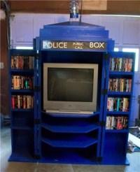 TARDIS TV Cabinet [pic] - Global Geek News