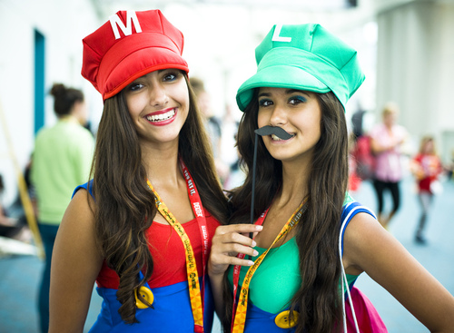 Lady Mario Brothers