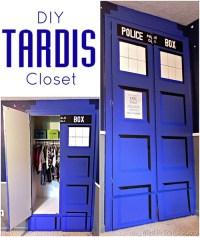 DIY TARDIS Closet [pic] - Global Geek News