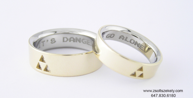 Amazing Legend Of Zelda Wedding Rings Pic Global Geek News