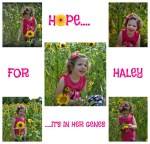 Sweet Haley is living with Krabbe disease