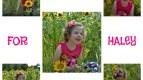 Sweet Haley is living with Krabbe disease
