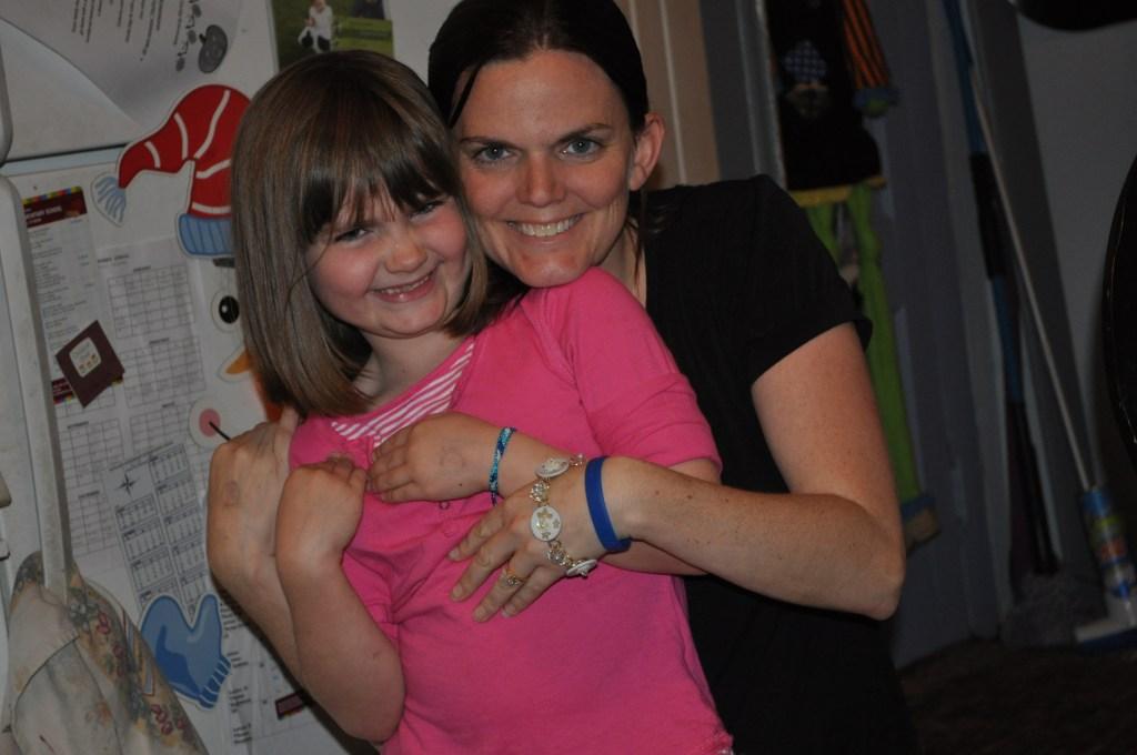 Brookelyn and her Mom keep smiling despite having Juvenile Dermatomyositis