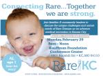 The RareKC Project Hosts Town Hall Meeting for World Rare Disease Day