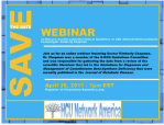 Save the Date: Webinar on Guidelines on Diagnoses and Managment of Cystathionine Beta-Synthase Deficiency