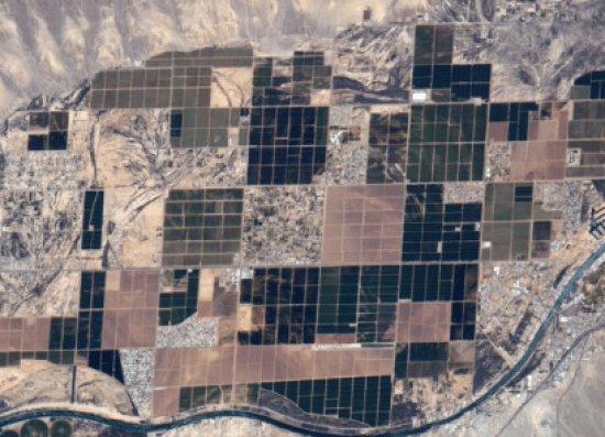 Arizona from space by Pesquet