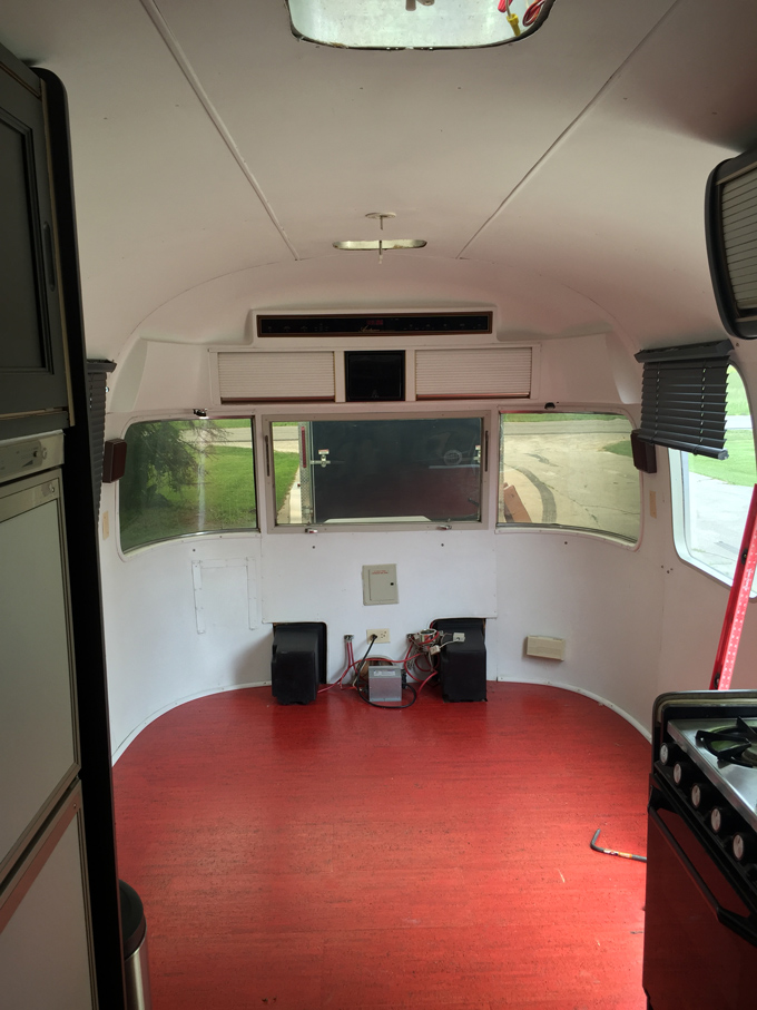 rv kitchen appliances ceiling fan for inside my airstream trailer remodel - global girl travels