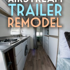 Ikea Faucet Kitchen Chef Decor Inside My Airstream Trailer Remodel - Global Girl Travels