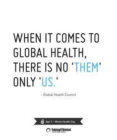 Global Health Quotes