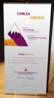 Oprawa graficzna konferencji - projekt rollupu na wydarzenie IT Manager of Tomorrow 2017