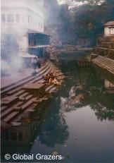 Ghats, Pashupatinath Temple, Kathmandu, Nepal