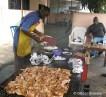Chicken on the Grill at Chez Thomas, Abidjan, Ivory Coast