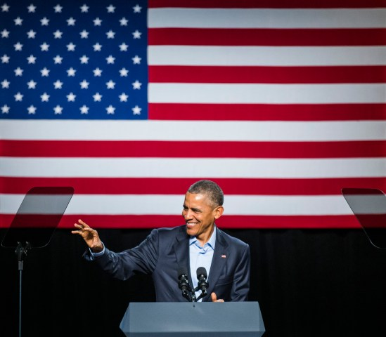 Obama Attends DNC Fundraiser In Texas