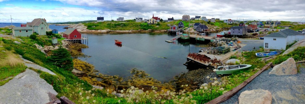 Peggys Cove panorama