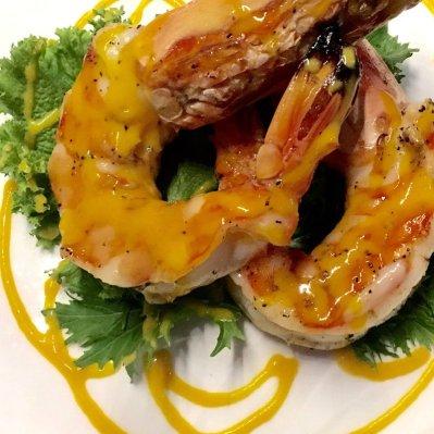 Shrimp at Blue Cilantro