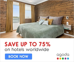 Agoda 75% off accom
