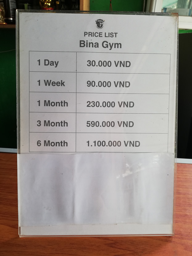 Bina Gym and Fitness