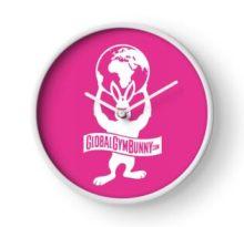 Global Gym Bunny Clock