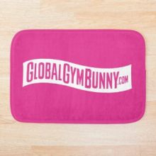 Global Gym Bunny Bath Mat