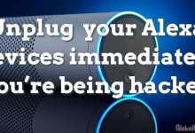 Unplug your Alexa devices