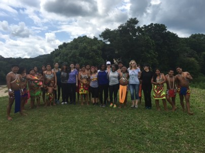 Visiting the Embera Village