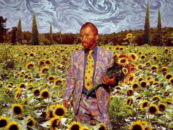 VanGogh-Sunflowers