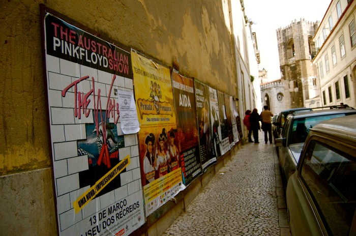 Lisbon music posters