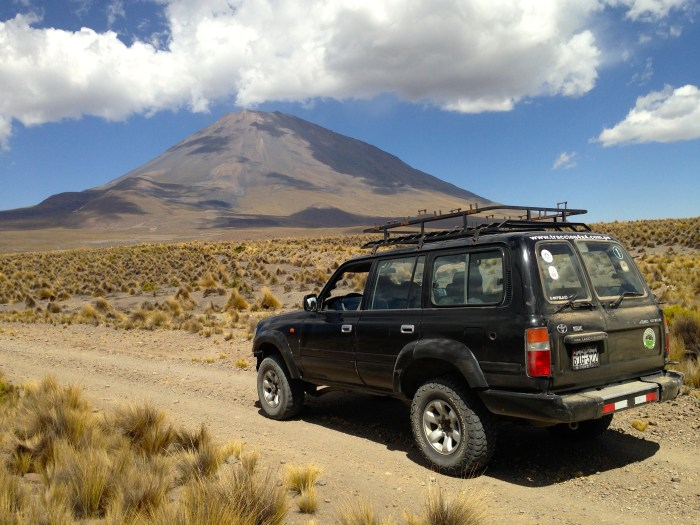 El Misti from Aguada Blanca