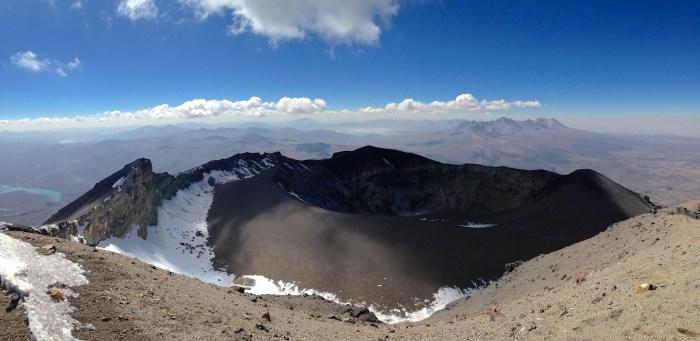 El Misti Crater