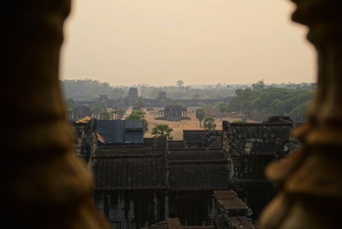 Angkor Wat Sunset View