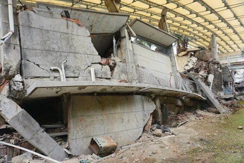 921 Earthquake Museum Collapsed School Building