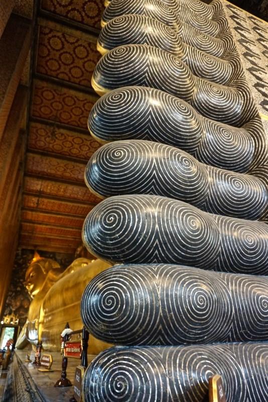 Reclining Buddha Feet