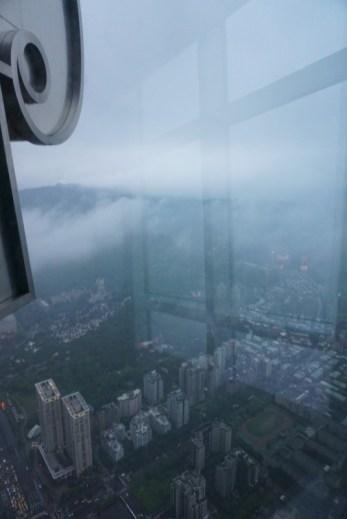 Taipei 101 Foggy View