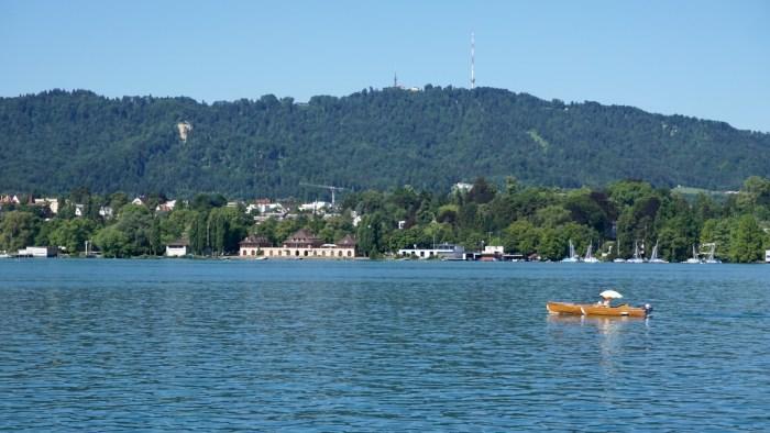 Lake Zurich and Uetliberg