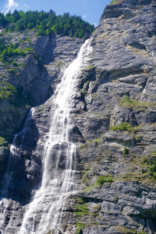 Waterfall of Lauterbrunnen