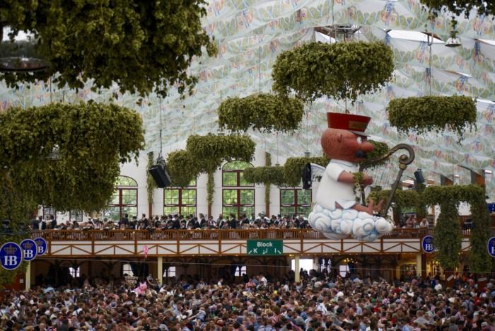 Oktoberfest Hofbrau Tent